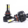 2018 auto 8000 lumen L3 car led headlights bulb kit h1 h3 h4 h11 h13 9007 9004 9005 9006 h7 car led headlight