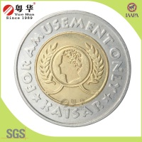Newest product metal 2 euros coin replica