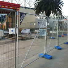 hot dipped galvanized Australia temp fence with plastic feet