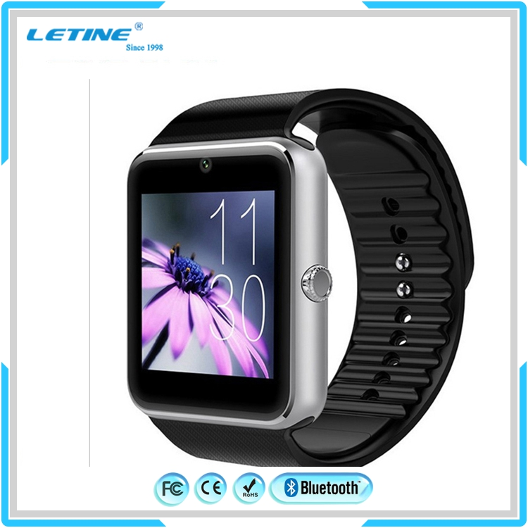 Waterproof factory price gt08 smart watch,android 4.4 OS dz09 smart watch phone with sim card