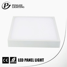 Pengjie Factory Hot Sales 15W Smd Square Led Surface Wall Panel Light