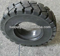 High Quality Forklift Solid Rubber Wheels 5.00-8 For Kubota