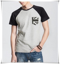 Mens' shirt supplier in Hong Kong custom made t-shirt high quality wholesale men's premium t shirt