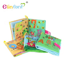 Elinfant more soft baby cloth book popular books