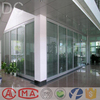 China office partition glass Aluminum alloy wall half glass wall