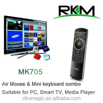 Rikomagic MK705 Flymouse and Mini Keyboard,remote control