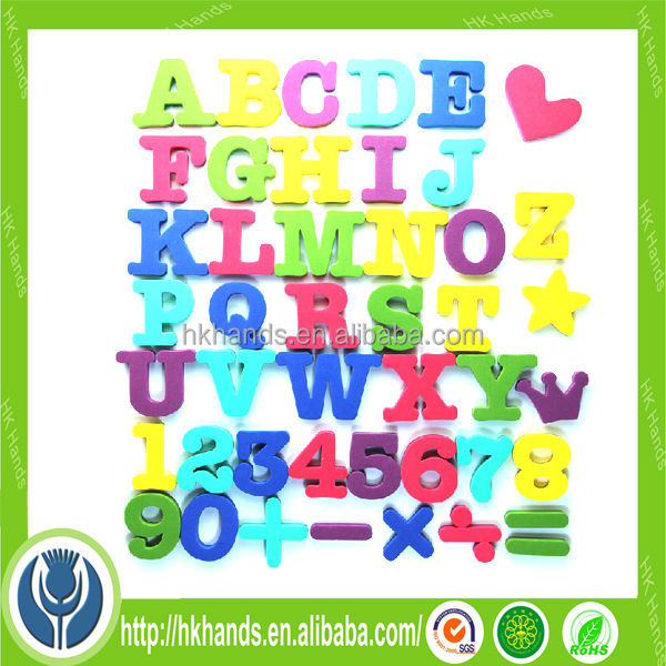 alphabet letter fridge magnet for baby education