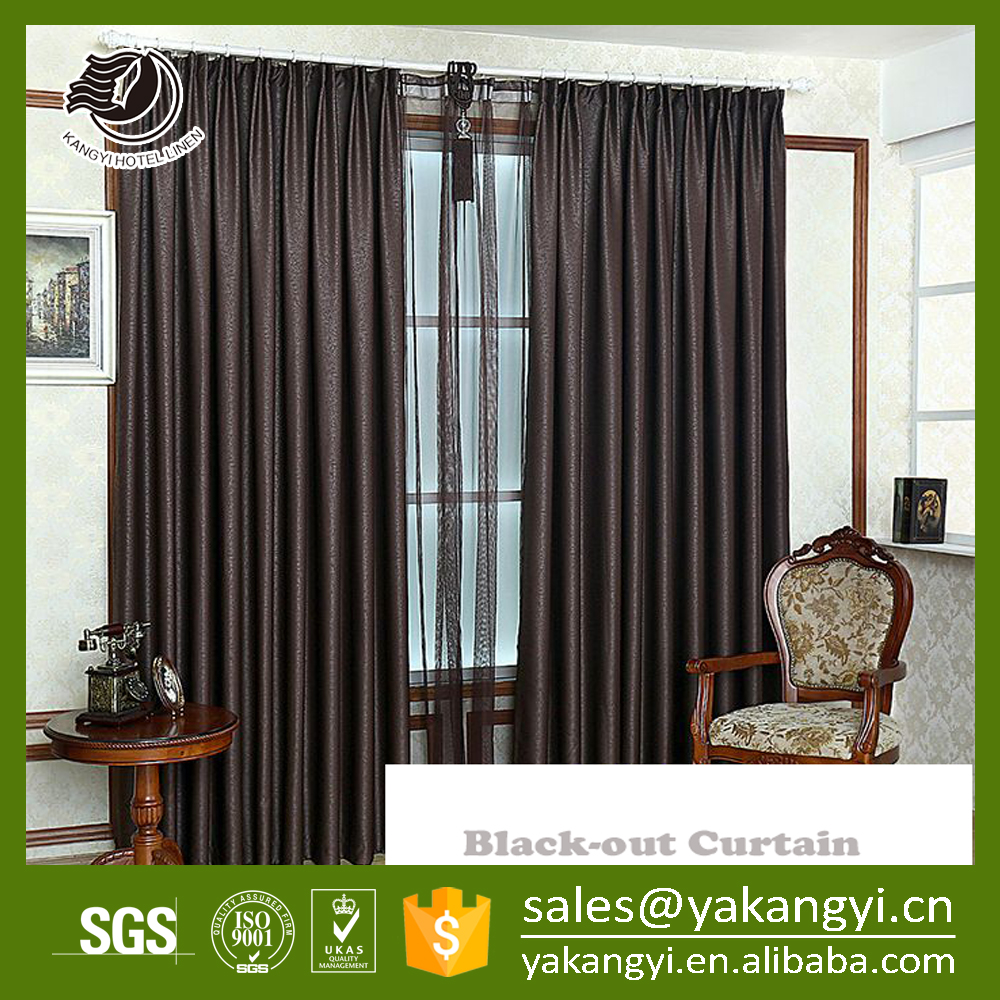 hotel room curtains foshan factory