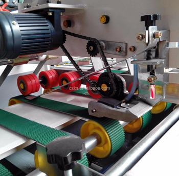 [Main production]Auto gluing machine /corrugated carton box folder gluer machine made in china