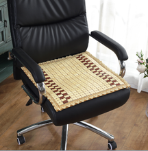 bamboo chair cushion with lace in summer