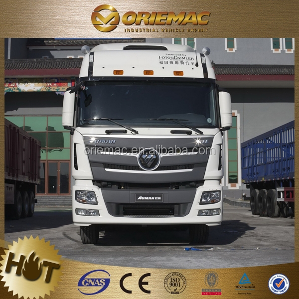 China manufacture low price tractor trucks FOTON BJ4189SLFKA