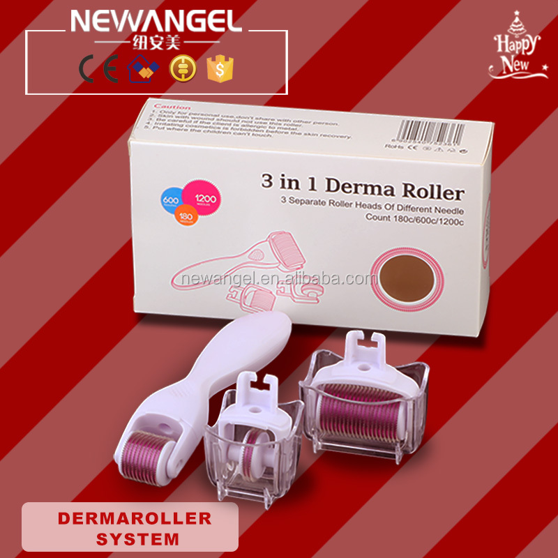 NEWNAGEL best micro needle dts dermaroller with 3 years warranty