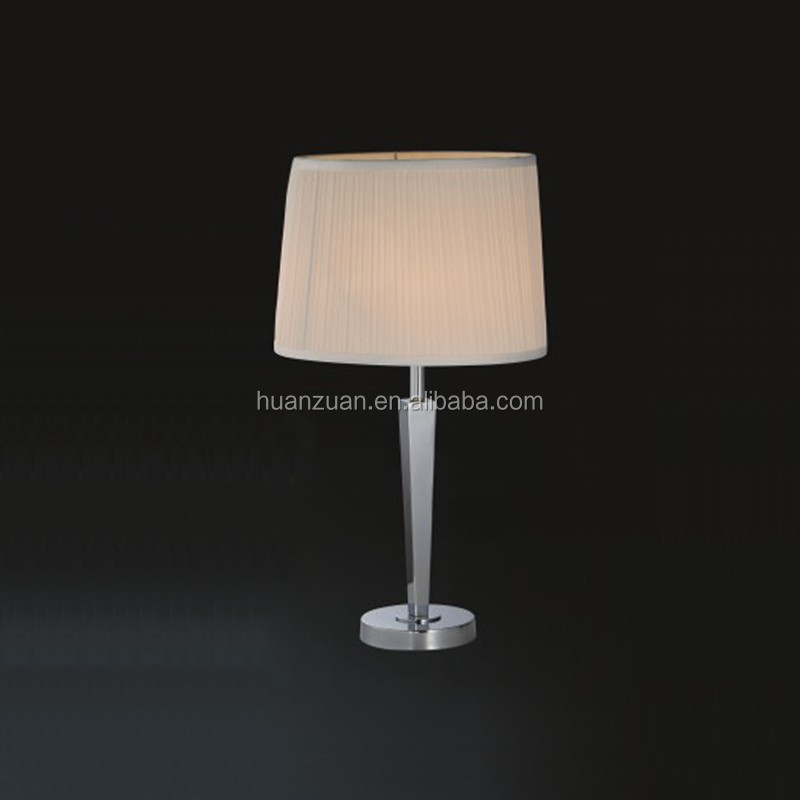 awl shaped modern fabric ce standard table lamp , table lighting