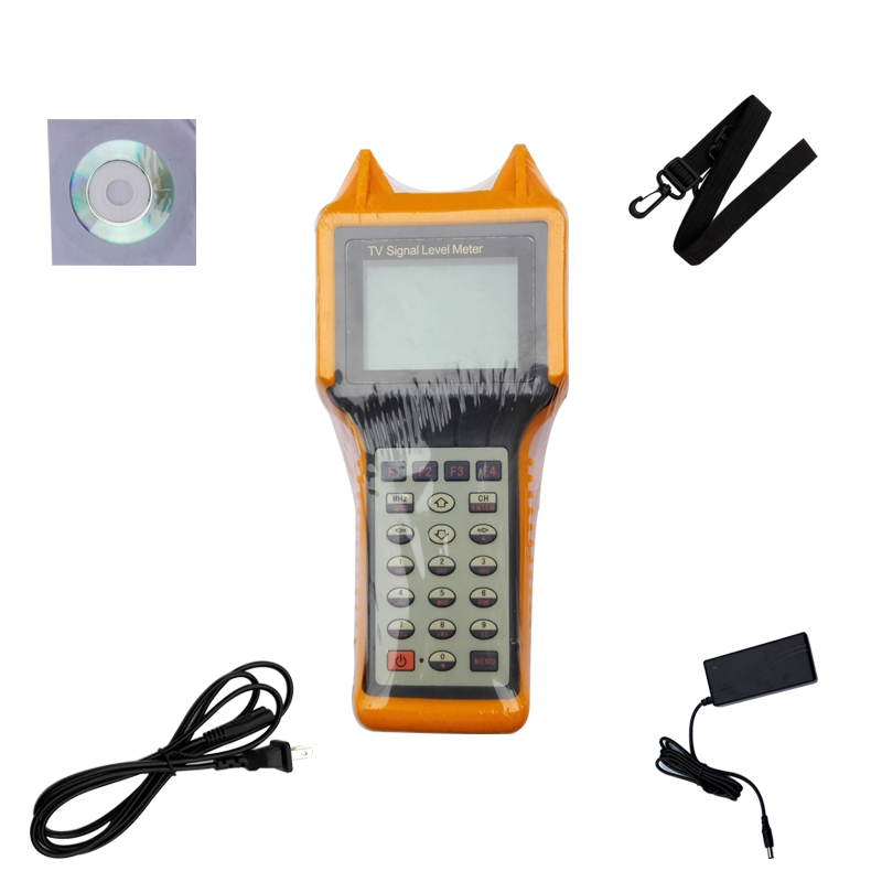 5-870MHz Handheld Analog Cable TV Signal Level Tester