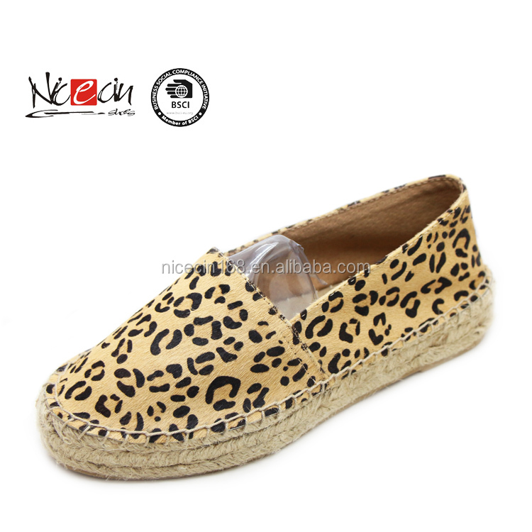2016 jute sole espadrilles, women slip on casuall shoes,leather shoes pictures