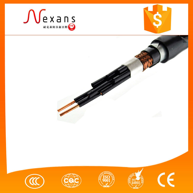 Hot sale control power cable with connector made in china for sale