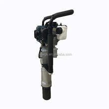 70mm Portable Handheld Petrol Guardrail Vibrating Fence Piling Machine /Post Pile Driver For Asia Market