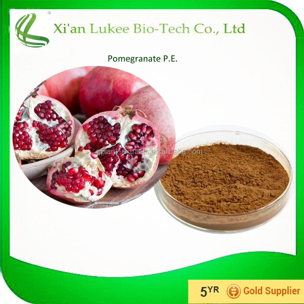 Glycolic acid 95% Peel Pomegranate Extract/60 punicalagins pomegranate extract/pomegranate plant extract40%