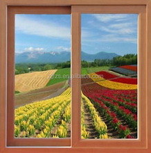 Residential brown aluminum windows made in China