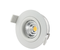 super warm dimmable 0-100% led cob downlight with 68mm cutout ce rohs approved ip44 2700k 3000k