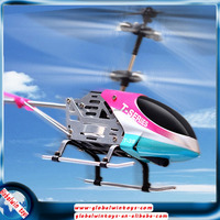 Upgrade version helicopter with gyroscope sensor metal frame support iphone/ipad control 3ch pink rc helicopter for girls T38