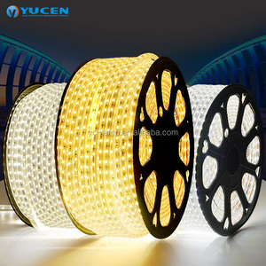 Top quality 2835 220V IP65 12mm high voltage waterproof sillicon tube LED Strip Light