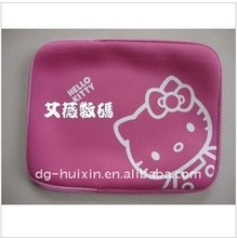 Hello Kitty neoprene laptop sleeve for promotional gift