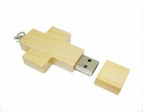 Fast Speed USB Flash Drive 32GB U Disk/Wooden USB Pen Drive USB 2.0 Driver/Cross Shape USB Flash Memory Sticks Factory Price