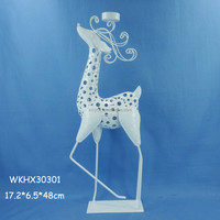 Floor standing deer metal candle holder parts