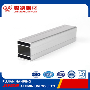 Popular 6063 aluminium square tube pipe for world market