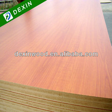 Cherry Melamine Boards (Melamine Faced Particle Board, MDF or Plywood)