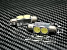 LED light color White 12V 39mm SMD 2-LED C5W Festoon Bulbs Car Bulbs Rear lights/ reading lights led car bulbs