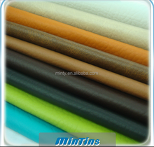 sofa rexine for residential furniture decoration with fire retardant