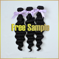 loose wave human hair extension human hair wigs for black women 100g/piece hair extensions double drawn weft