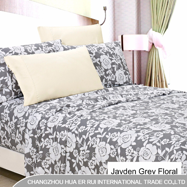 6 Piece Printed Bed Sheet Set