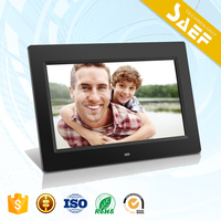 digital picture frame with 1024*600 digital photo frame 10 inch with SD card