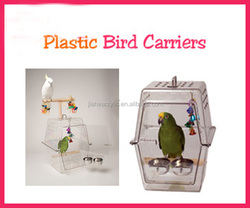 customized cheap plexiglass decorative Parrot Cage Clear Bird Cage perspex portable bird carrier