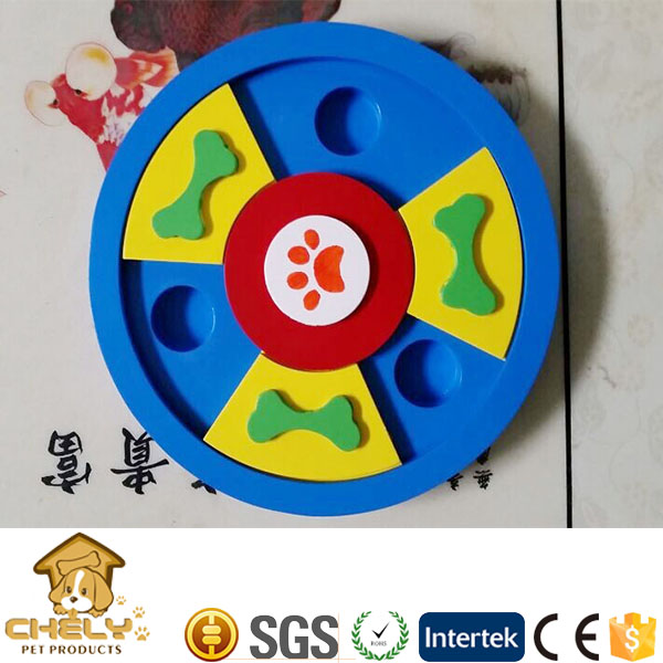 Cheap Interactive Dog Toy Wholeslae Wooden Puzzle IQ Training Pet Toys
