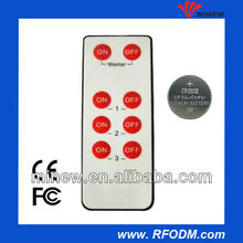 CE Certified with 8 buttons remote controller
