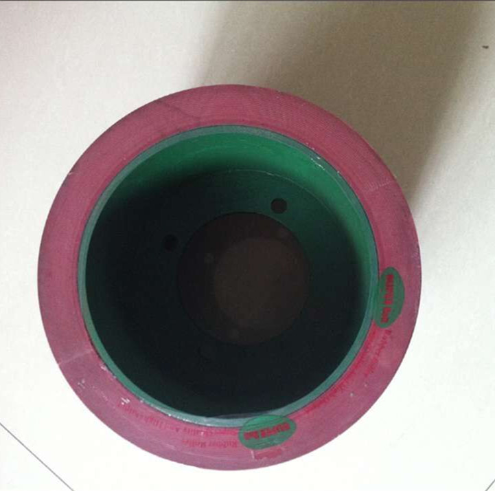 10inch Thicken high wear-resisting rubber roller