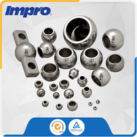 Alloy Steel rod end balls heavy duty machinery castings For Bearing of Construction Machinery
