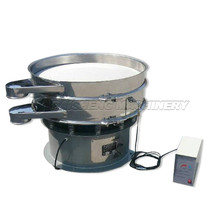 China ultrasonic vibratory circular screen separator/stainless steel sieve shaker