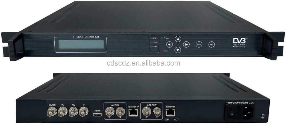 sc-1106 h264 hd asi encoder SD/HD H.264 Encoder(HDMI+YPbPr+CVBS/AUDIO in,ASI+IP out)