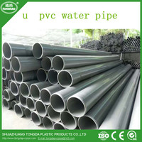 u pvc water pipe and fittings with high quality
