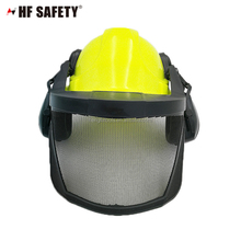 Safety helmet with earmuff,face shield with ear protection