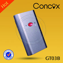 gps personal tracker with google map tracking software/sos button/built-in antenna Concox GT03B