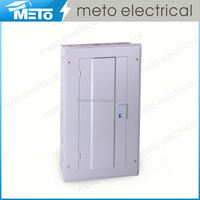 METO electrical power outdoor single phase 24way residential distribution box/modular enclosure