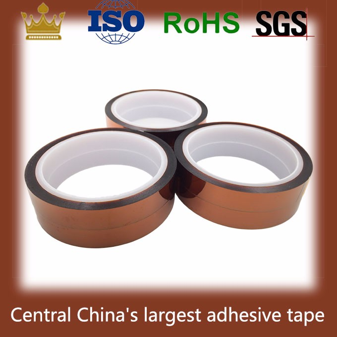 Heat resistant adhesive solvent contact finger PI sticky tape