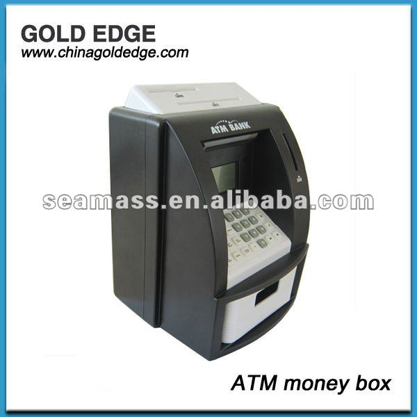 promotional ATM pound money box