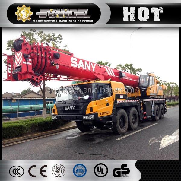 Hot!!!SANY 75 ton Telescopic Boom Truck Mounted Crane STC750